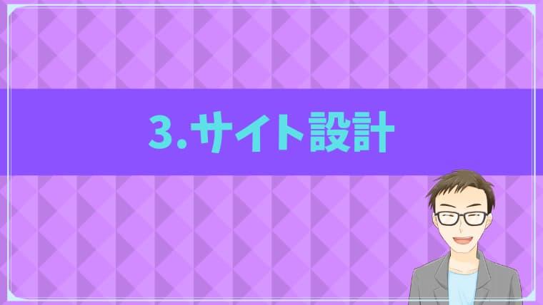 SEO集客3.サイト設計