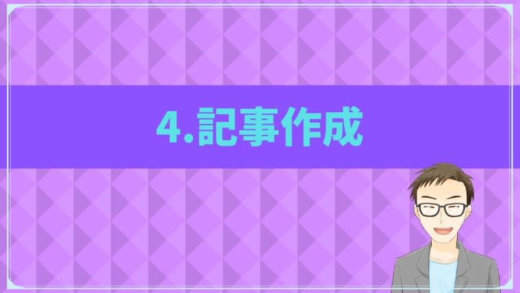 SEO集客4.記事作成